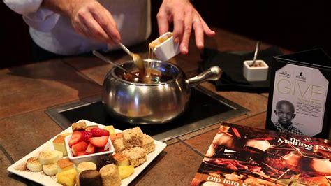 the melting pot s caramel toffee crunch chocolate fondue