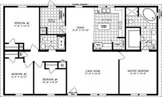 1400 Sq Ft. House Floor Plans