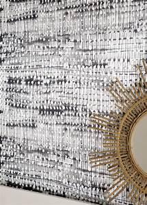 Papier Peint Noir Et Doré : papier peint l 39 intensit du noir et du blanc marie claire ~ Melissatoandfro.com Idées de Décoration