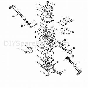 Stihl Ms 210 Chainbsaw  Ms210zwoodboss  Parts Diagram  Carburetor C1q