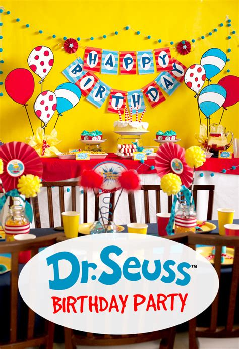 1st birthday party ideas for boys you will to dr seuss birthday party frog prince paperie