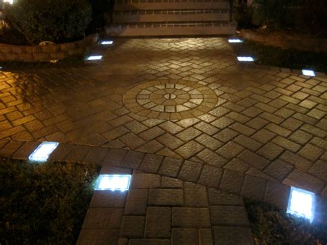 solar brick lights solar brick paver getdatgadget