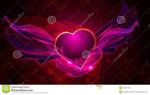 Le Romantique Coeur by Signe Romantique De Coeur De L Amour Illustration Stock