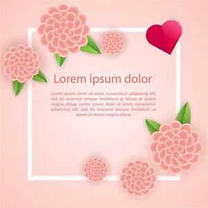 decoration romantique de cadre d39affiche avec des coeurs With affiche chambre bébé avec fleurs Ï bouquet