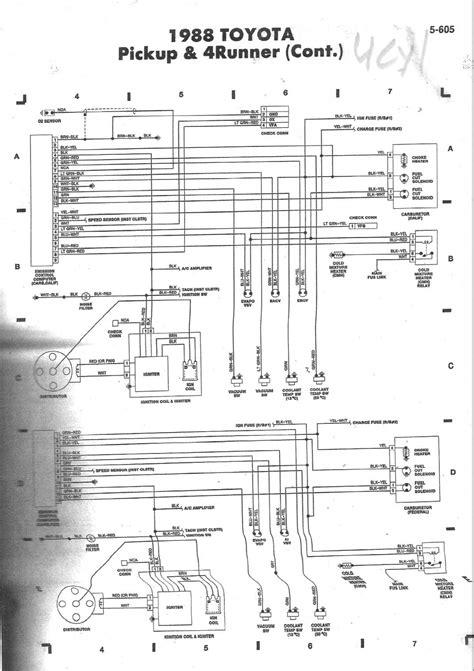 Wire Diagram 98 Toyotum 4runner by 88 3vze 5 Speed Wiring Diagram Help Page 2 Yotatech