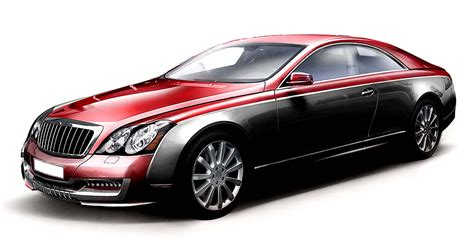 Maybach Coupe Red 2 Nce