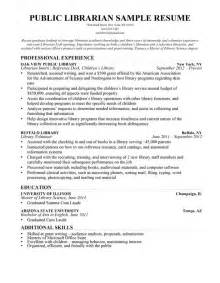 Musician Resume Template Librarian Resume Sle Writing Guide