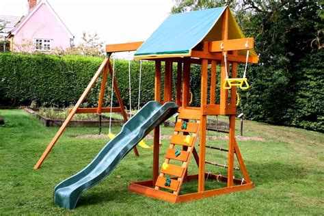 Swing Sets For Small Backyard Sample