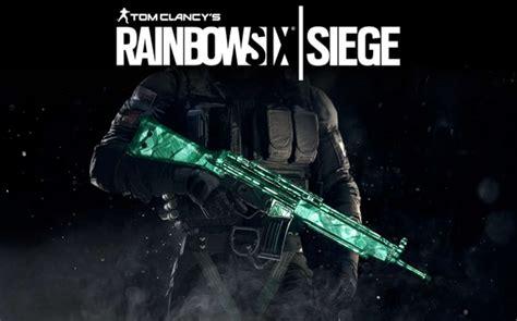 siege keyo tom clancy 39 s rainbow six siege emerald weapon skin uplay