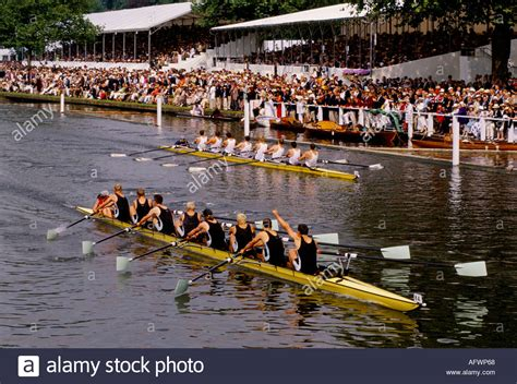 Watch The Boat Race by Henley Royal Regatta Henley On Thames Crowds Watch The