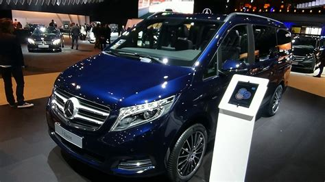 2018 Mercedes Benz V-Class exterior, interior, engine