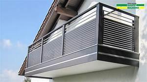 Balkongeländer Pulverbeschichtet Anthrazit : balkongel nder alu ab 124 kaupp balkone ~ Michelbontemps.com Haus und Dekorationen
