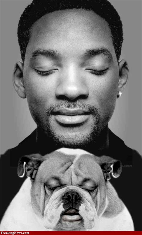 Famous People (will Smith) + Dogs  Celebrities And Their
