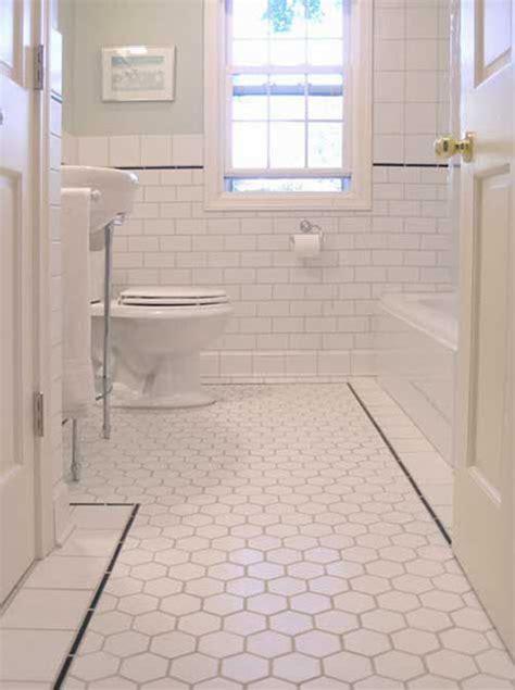 black and white bathroom tile designs 37 black and white hexagon bathroom floor tile ideas and