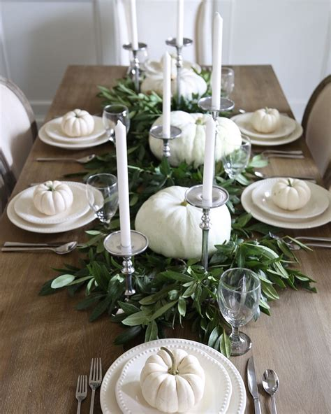 Beautiful DIY Thanksgiving Table Setting Design (27