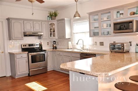 painting kitchen cabinets with sloan painted kitchen cabinets using grey chalk paint by 9061