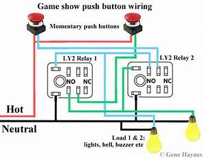 Game Show Push Button Wiring