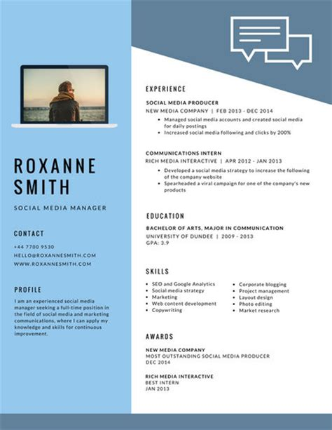 What Does A Modern Resume Look Like by Minimalist Videographer Resume Templates By Canva