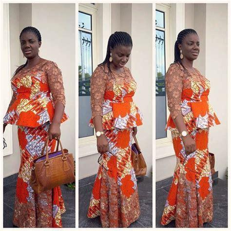 Ankara Skirt and Blouse Style   Lifestyle Nigeria