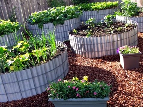 Two Men And A Little Farm Round Raised Beds, Inspiration