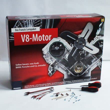 v8 motor kaufen franzis v8 motor bausatz kaufen design3000 de shop