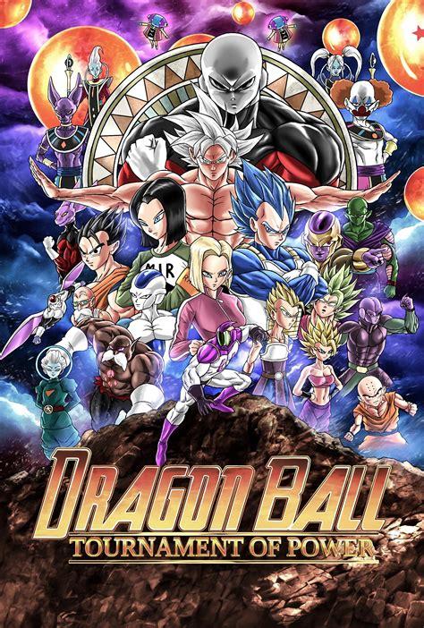 anime movil dragon ball s per dragon ball super il poster trasforma il torneo del