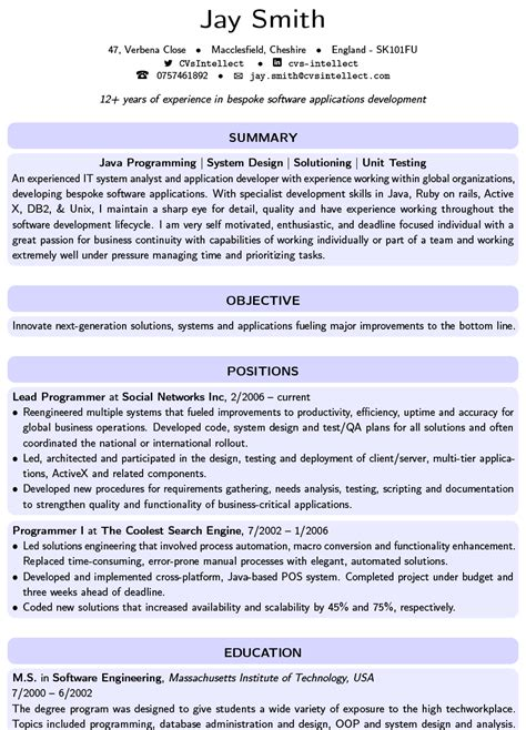 Trendy Resume Templates by Cvsintellect The R 233 Sum 233 Specialists Free Cv Maker Resume Builder Bio Data
