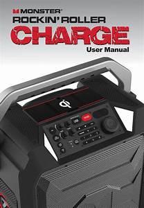 Ys1352 Rockin Roller Charge Speaker User Manual Monster