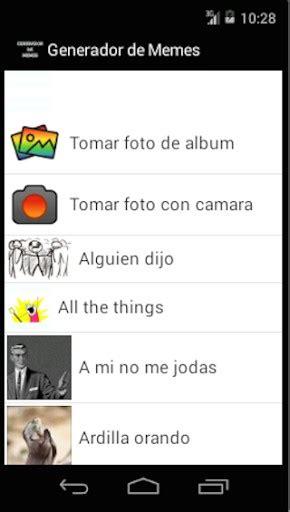 Generador Memes - generador de memes app for android