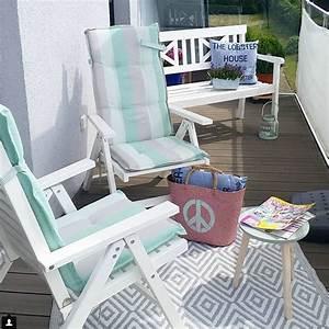 Ideen Zur Balkongestaltung : kleinen balkon gestalten wohnkonfetti ~ Markanthonyermac.com Haus und Dekorationen