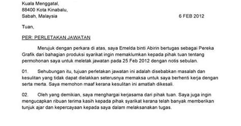 contoh cover letter  bahasa malaysia getthesisweb