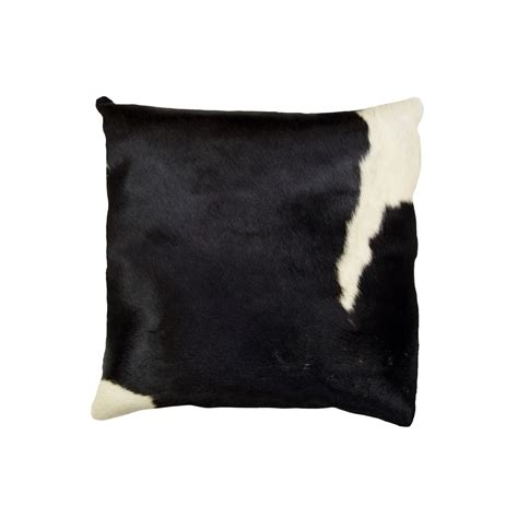 Torino Cowhide Pillow by Torino Cowhide Pillow Patterned 18 Quot Square Brown