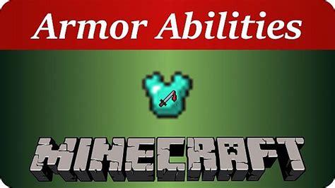 armor abilities armor  potion effects  vanilla