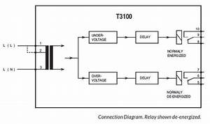 T3100 Voltage Relay  Din