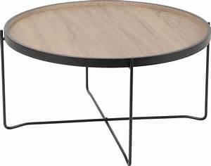 Plateau De Table : table basse plateau esprit industriel ~ Teatrodelosmanantiales.com Idées de Décoration