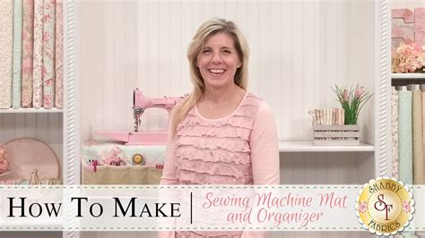 how to mat a print how to make a sewing machine mat a shabby fabrics sewing