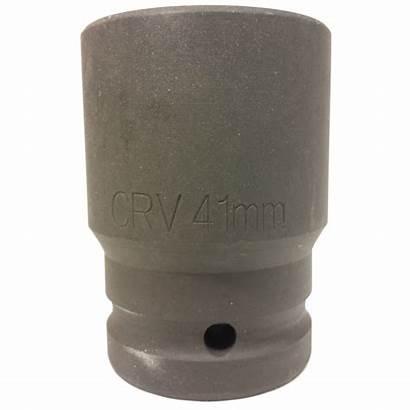 Socket Inch Impact Sae Drive Metric Wrench
