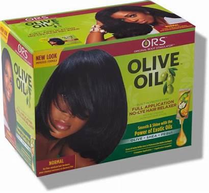 Relaxer Lye Hair Kit Normal Application