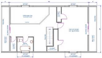 cabin blueprints floor plans 960 sqft d