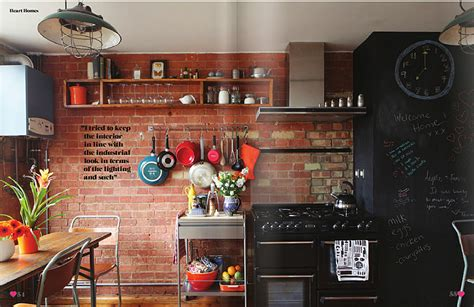 brick cuisine creative brick wall kitchen design ideas