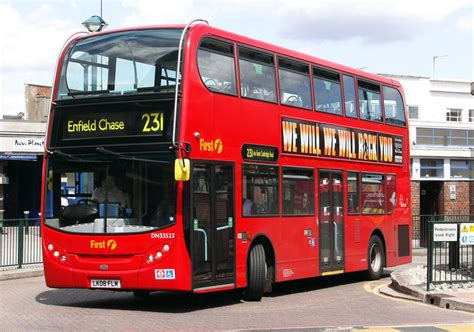 london bus routes route  enfield chase turnpike