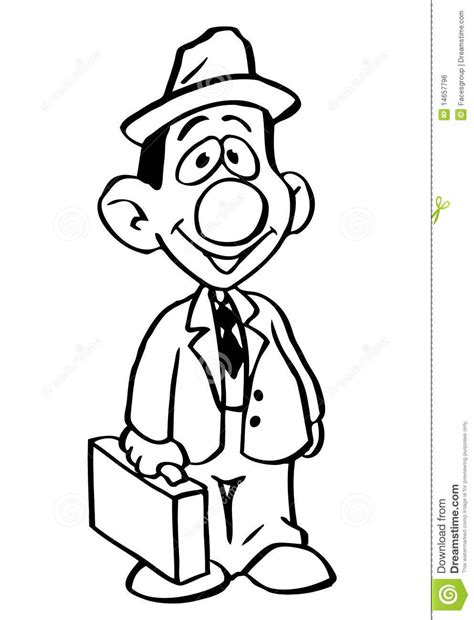 cartoon man stock vector illustration  cartoons comics