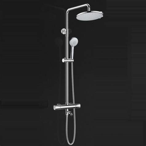 Outdoor Exposed Shower Faucet by Best Electroplated Brass Thermostatic Exposed Outdoor