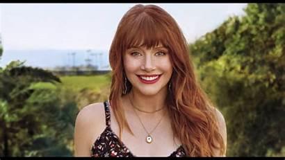 Bryce Howard Dallas Wallpapers Actress Redhead Jurassic