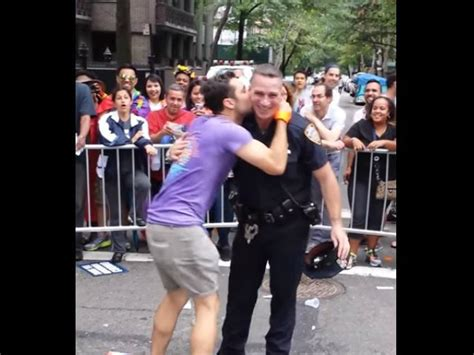 Nypd Officer Bumps Grinds Simulates Sex With Gay Pride