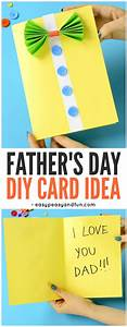 Bow-Tie Shirt Father's Day Card Idea - Easy Peasy and Fun