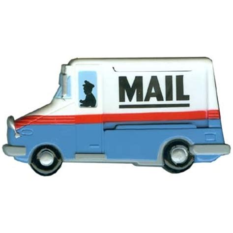 paper clip magnet mail truck clip magnet 92773 1st class treasures