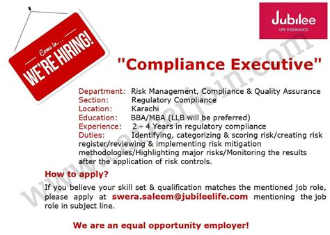 • answer questions and make changes to existing policies. Jobs in Jubilee Life Insurance Company Limited - Get Info Point