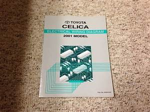 2001 Toyota Celica Electrical Wiring Diagram Manual Gt Gts