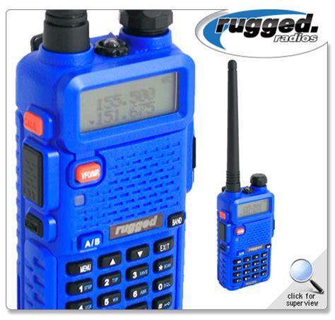 range of 5 watt handheld vhf radio rugged radio rh 5r rugged radios 5 watt dual band vhf uhf handheld radio 187 bad motorsports inc